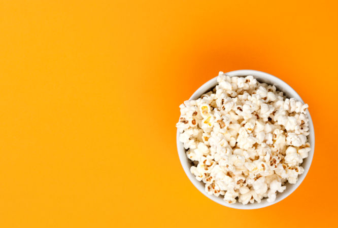 Microwave Testing (bowl of popcorn image)