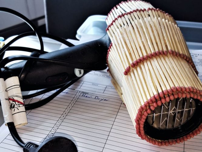 Electrical hazards in the workplace - the horror hairdryer!